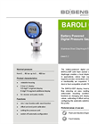 BAROLI 05P Stainless Steel Diaphragm for Flush Hygienic Applications - Datasheet