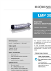 LMP 308 Stainless Steel Sensor and Separable Probe Ø 35 - Datasheet