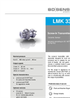 LMK 331 Ceramic Sensor, Flush for Plant and Mechanical Engineering - Datasheet