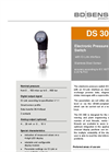 DS 300 Stainless Steel Sensor with IO-Link Interface - Datasheet