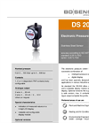 DS 200 Stainless Steel Sensor for Universal Applications - Datasheet