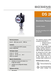 DS 201 Ceramic Sensor for Universal Applications - Datasheet