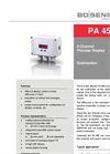 PA 450 2 Channel Process Display for Subtraction - Datasheet