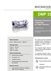 DMP 334i Stainless Steel Sensor, Welded for Plant and Machine Engineering - Datasheet