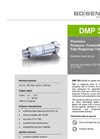 DMP 320 Stainless Steel Sensor with Fast Response Time - Datasheet