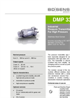 DMP 333 stainless steel sensor for universal applications - Datasheet