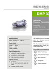 DMP 335 Stainless Steel Sensor, Welded for Medical Technology, Hydraulics - Datasheet