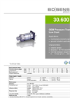 30.600 G Ceramic Sensor for Universal Applications - Datasheet