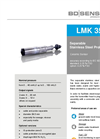 LMK 358 Ceramic Sensor and Separable Stainless Steel Probe Ø 39,5 - Datasheet