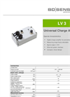 LV 3 Digital Charge Amplifier for Piezoelectric Sensors - Datasheet