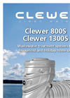 Clewer 800S/1300S - Wastewater Treatment Systems Datasheet