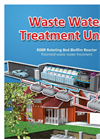 Large Scale Waste Water Treatment Units