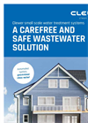Clewer - Small Scale Water Treatment Systems - Brochure