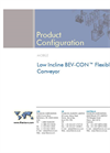 Low Incline BEV-CONTM Flexible Screw Conveyor Brochure