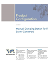 Manual Dumping Station for Flexible Screw Conveyors Brochure