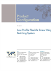 Low Profile Flexible Screw Weigh Batching System Brochure