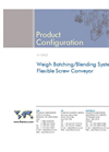 Weigh Batching/Blending System with Flexible Screw Conveyor Brochure