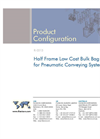 Half Frame Low Cost Bulk Bag Unloader for Pneumatic Conveying Systems Brochure