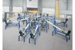 Low Profile Flexible Screw Weigh Batching System