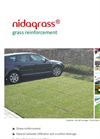Nidagrass - Grass Reinforcement Brochure