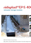 Nidaplast - Model EP-S - Rainwater Storage Modules Brochure