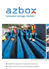 AZbox - Rainwater Storage Modules Brochure