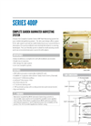 Series 400P Complete Garden Rainwater Harvesting Systems Specification Sheet