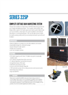 Series 225P Complete Cottage Rainwater Harvesting System Specification Sheet