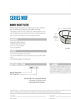 Series MBF Manway Basket Filter Specification Sheet
