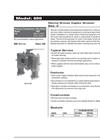 690 - Marine Bronze Duplex Strainer Brochure