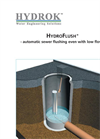 HydroFlush Automatic Sewer Flushing