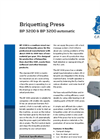 BP 3200 & BP 3200 Automatic Briquetting Press Brochure
