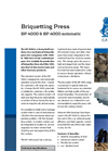 BP 4000 Automatic Briquetting Press Brochure
