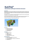 SubTriq - Standardized Submerged Membrane Bioreactor - Brochure
