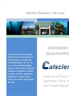 Marine Chemistry Services- Brochure