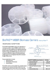 bioFAS - B-460 - Moving Bed Biofilm Reactor (MBBR) Biomass Carriers System Brochure