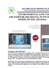 Model DF-EDL-22E (220V) ELITE DIGITAL LIGHT (EDL) Environmental Low Volume Air Sampler - Brochure