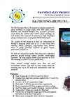 Econoair Model L-5P - Personal Air Sampling Pump Brochure