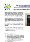 Econoair Plus Model L-12P - Personal Air Sampling Pump Brochure