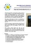 Econoair Plus Model L-15P - Personal Air Sampling Pump Brochure