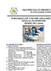Model DF-1 (110V) Digital Flowmeter Low Volume Air Sampler Brochure