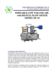 F&J - Model DF-1E - Digital Flow Meter Low Volume Air Sampler (200 - 240 VAC) - Brochure