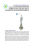 Model DF-14M (110V) Digital Flowmeter Breathing Zone Air Sampler Brochure