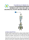 Model DF-14ME (220V) Digital Flowmeter Breathing Zone Air Sampler Brochure