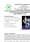 Model LV-1E (220V) Low Volume Air Sampler Brochure
