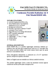 Model RMDF-60L Continuous Portable Radiation Air Monitor Brochure