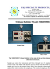 Model MRB500H3 (110V)Tritium Collection System Brochure