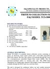 Model TCS-5000 (110V) Tritium Collection System Brochure