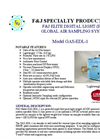Model GAS-EDL-1 (110V) ELITE DIGITAL LIGHT (EDL) Global Air Sampling System Brochure
