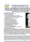 Model GAS-MHV300 (110V) Global Mega High Volume Air Sampling System Brochure